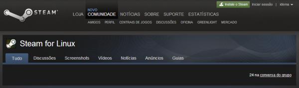 Valve lançou oficialmente o Steam para o Linux