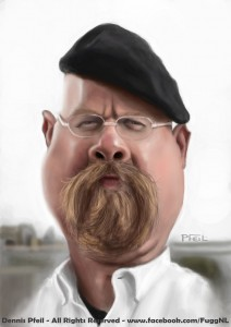 jamie_hyneman__mythbusters__caricature_by_fuggedaboudit-d5edemy