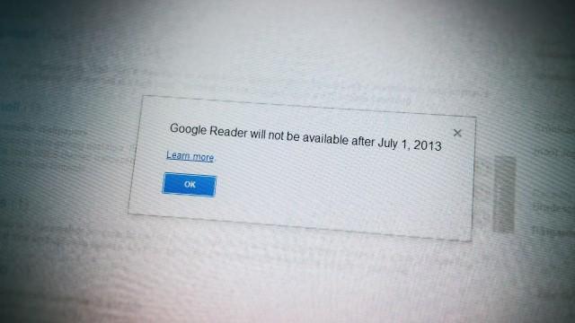 O fim está próximo para o Google Reader.