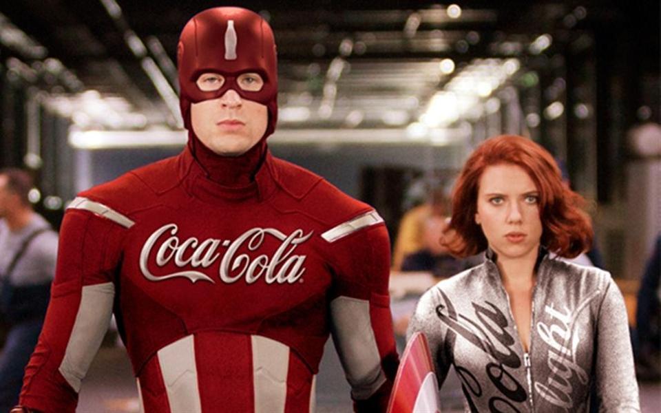 E se os super-heróis fossem patrocinados?
