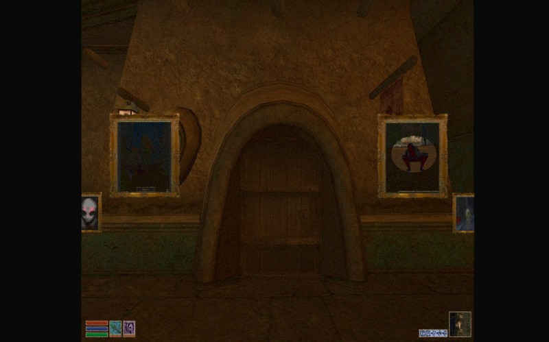 Screenprint 061 Creepypasta Arkade: A lenda do mod sombrio de The Elder Scrolls III Morrowind