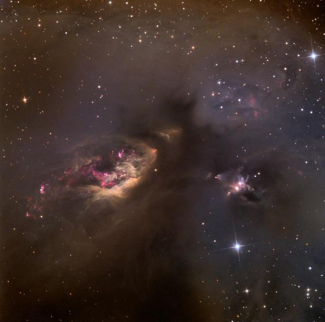 Celestial Impasto: Sh2-239