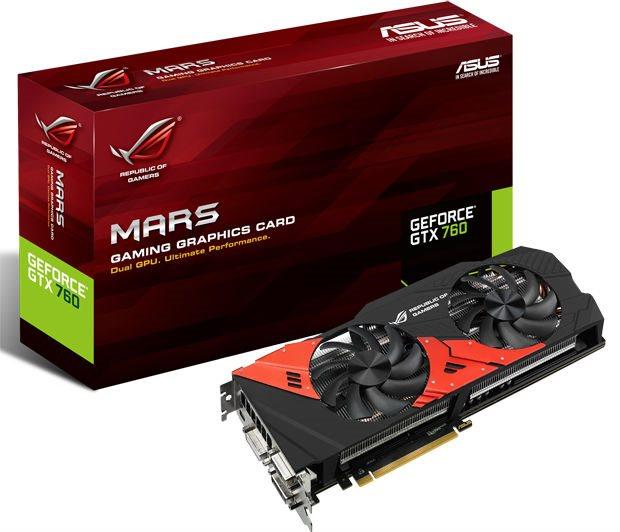 ASUS revela GPU Mars 760
