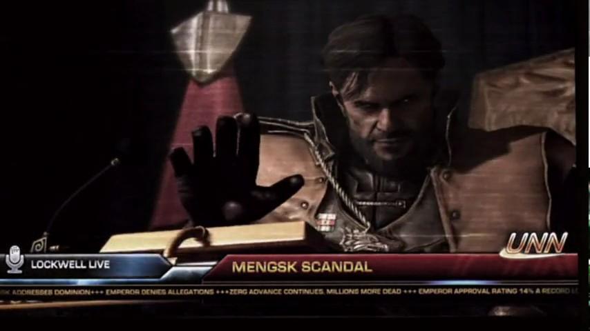 StarCraft 2 Brasil - Mengsk