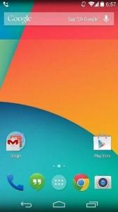 AndroidKitKatHomeScreen