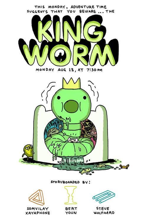 King_Worm_promo_art