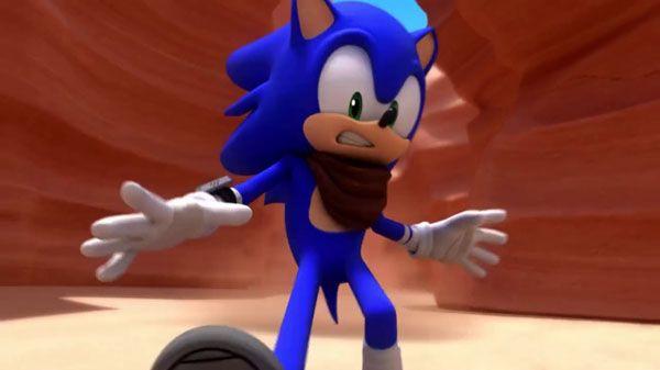 A cara do Sonic, ao ver o que o autor está dizendo sobre ele.