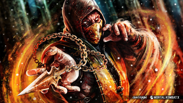 Scorpion-from-Mortal-Kombat-X-Badass-Fan-Art