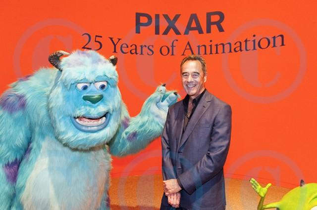 Pixar Pressekonferenz (Ausstellungseröffnung)