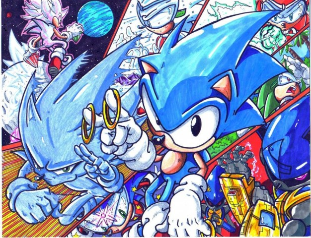 Sonic por Trunks!