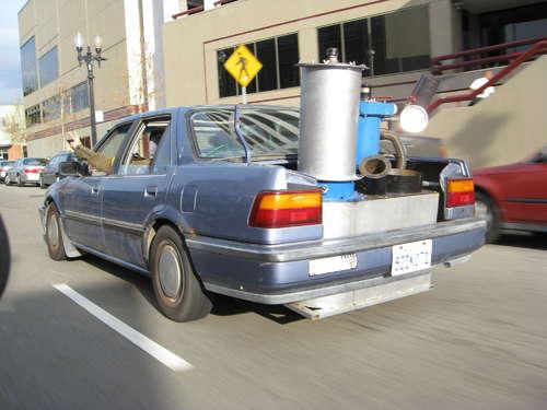 Carro com Gaseificador