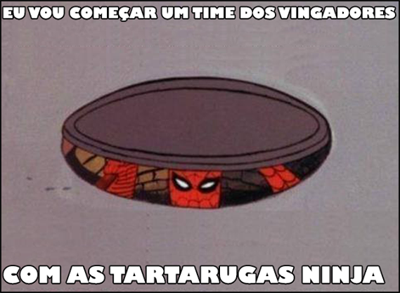 Homem Aranha Tartaruga Ninjas