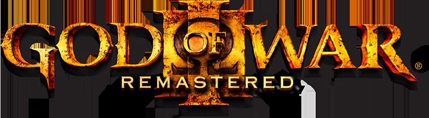 Resultado de imagem para God of War III Remastered logo png