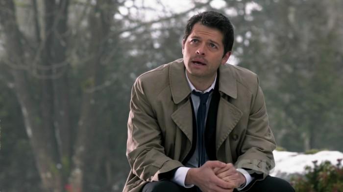 Misha Colins como Castiel