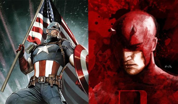 Capitão América - Demolidor
