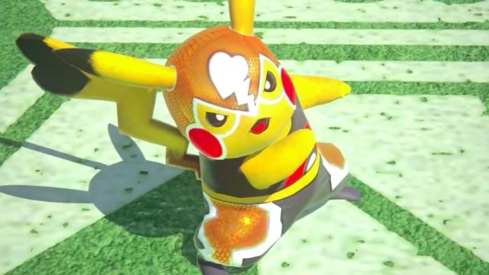 Pikachu Lucha Libre