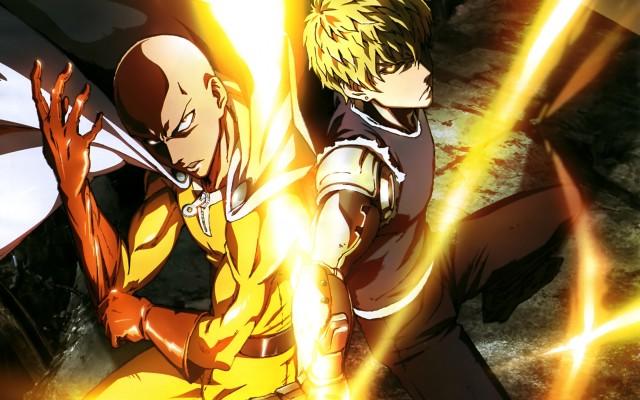 One Punch Man Saitama e Genos