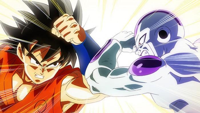 Goku Vs Freeza. Fuukatsu no F
